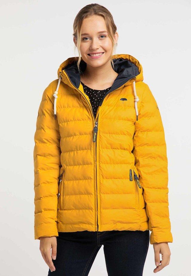 Talvitakki - mustard yellow