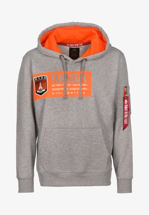 MARS NEON - Hoodie - grey heather