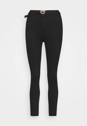 SUSAN TROUSERS - Jeansy Skinny Fit - black