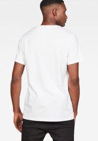 G-Star - Graphic Logo - Camiseta estampada - white - 1