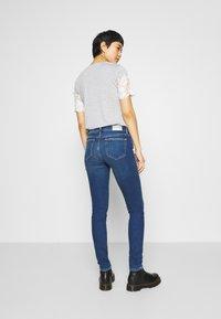 Mavi - ADRIANA - Jeans Skinny Fit - dark blue denim - 2