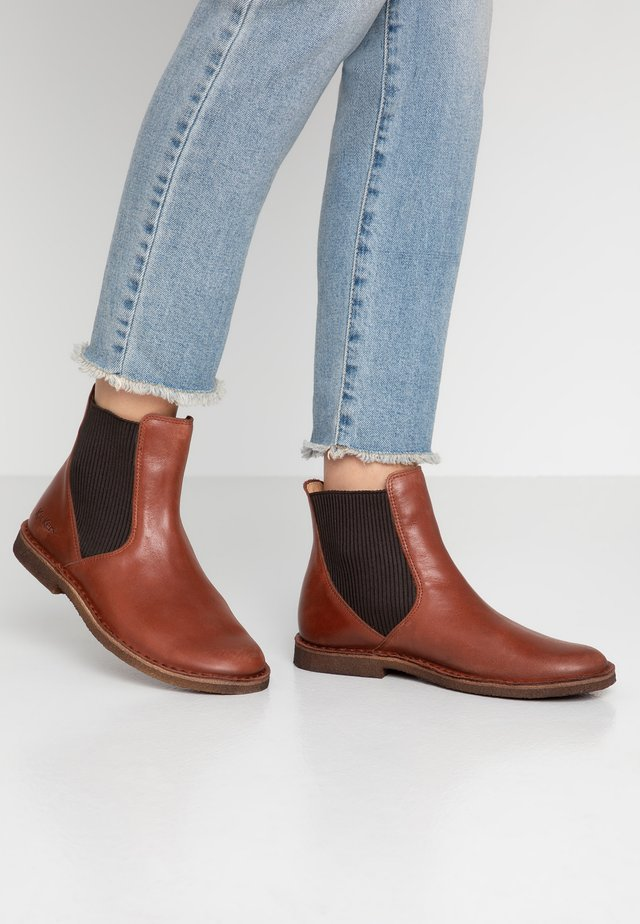 TINTO - Classic ankle boots - marron