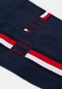Tommy Hilfiger - SOCK ICONIC STRIPE 2 PACK - Socks - navy - 1