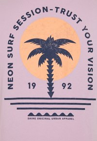 Shine Original - CHEST TEE  BACK - Print T-shirt - purple - 2
