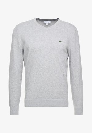Sweter - silber