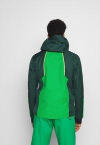 CMP - MAN JACKET HOOD - Ski jas - green - 2