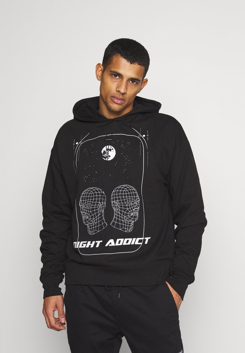 Night Addict - HEAD UNISEX - Hoodie - black