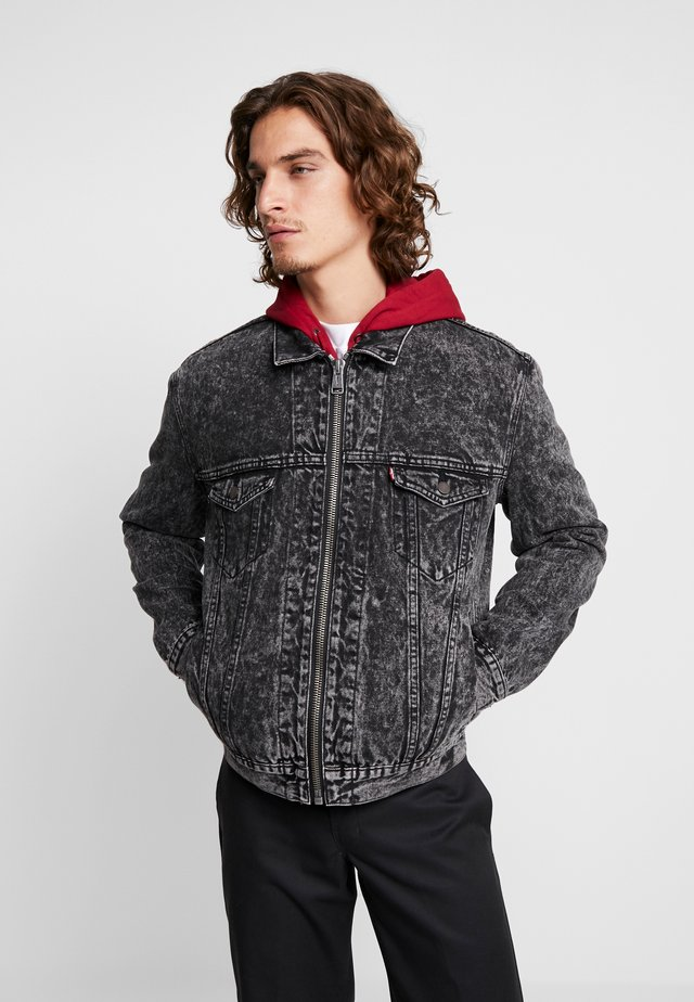 ZIP TYPE 3 TRUCKER - Denim jacket - peterson