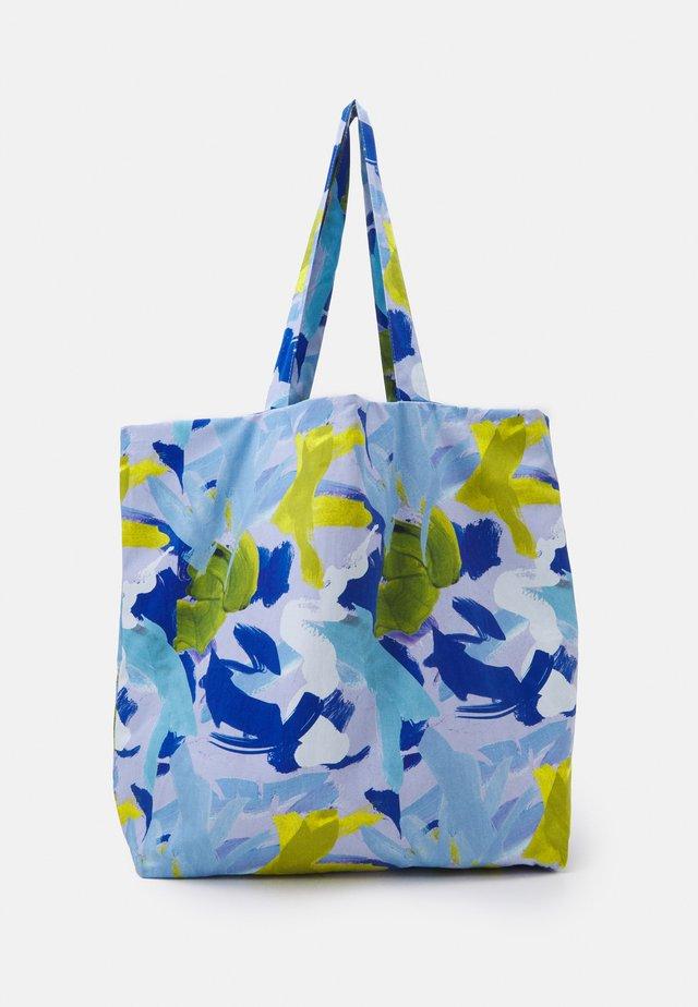 TOTE BAG L - Shoppingveske - multicoloured/blue