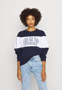 GAP - ORIGINAL CREW - Sweatshirt - navy uniform - 0
