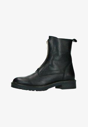 MIT REISSVERSCHLUSS - Platform boots - black