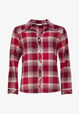 Pyjama top - red chks