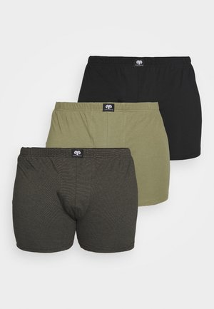 LONGPANTS 3 PACK - Pants - green