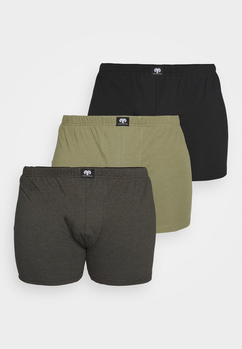 Ceceba - LONGPANTS 3 PACK - Pants - green