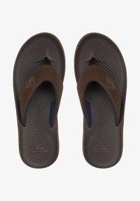 Quiksilver - HALEIWA PLUS - Pool shoes - brown/brown/brown - 0
