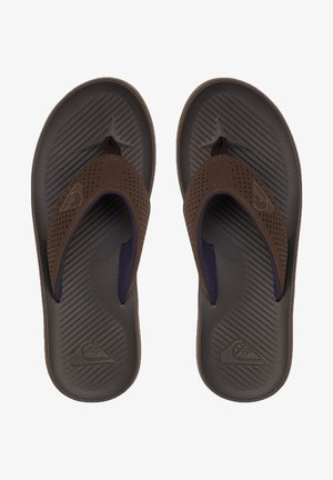 HALEIWA PLUS - Pool shoes - brown/brown/brown