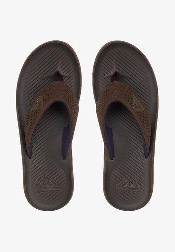 HALEIWA PLUS - Pool shoes - brown/brown/brown