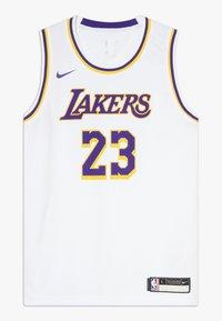 Nike Performance - NBA LA LAKERS LEBON JAMES ICON SWINGMAN - Squadra - white - 0