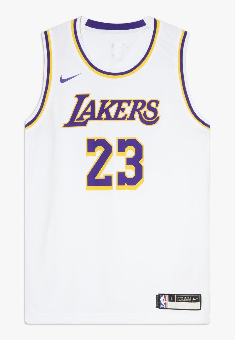 Nike Performance - NBA LA LAKERS LEBON JAMES ICON SWINGMAN - Squadra - white