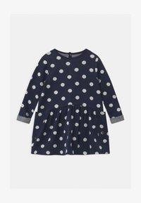 Petit Bateau - Jumper dress - smoking/marshmallow - 0