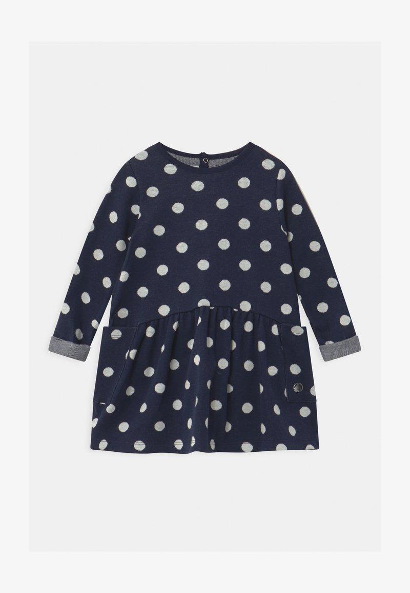 Petit Bateau - Jumper dress - smoking/marshmallow