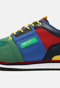 Benetton - POWER - Sneakers laag - green/red - 6