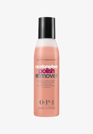 NAIL POLISH REMOVER ACETONFREE  - Nail polish remover - AL444