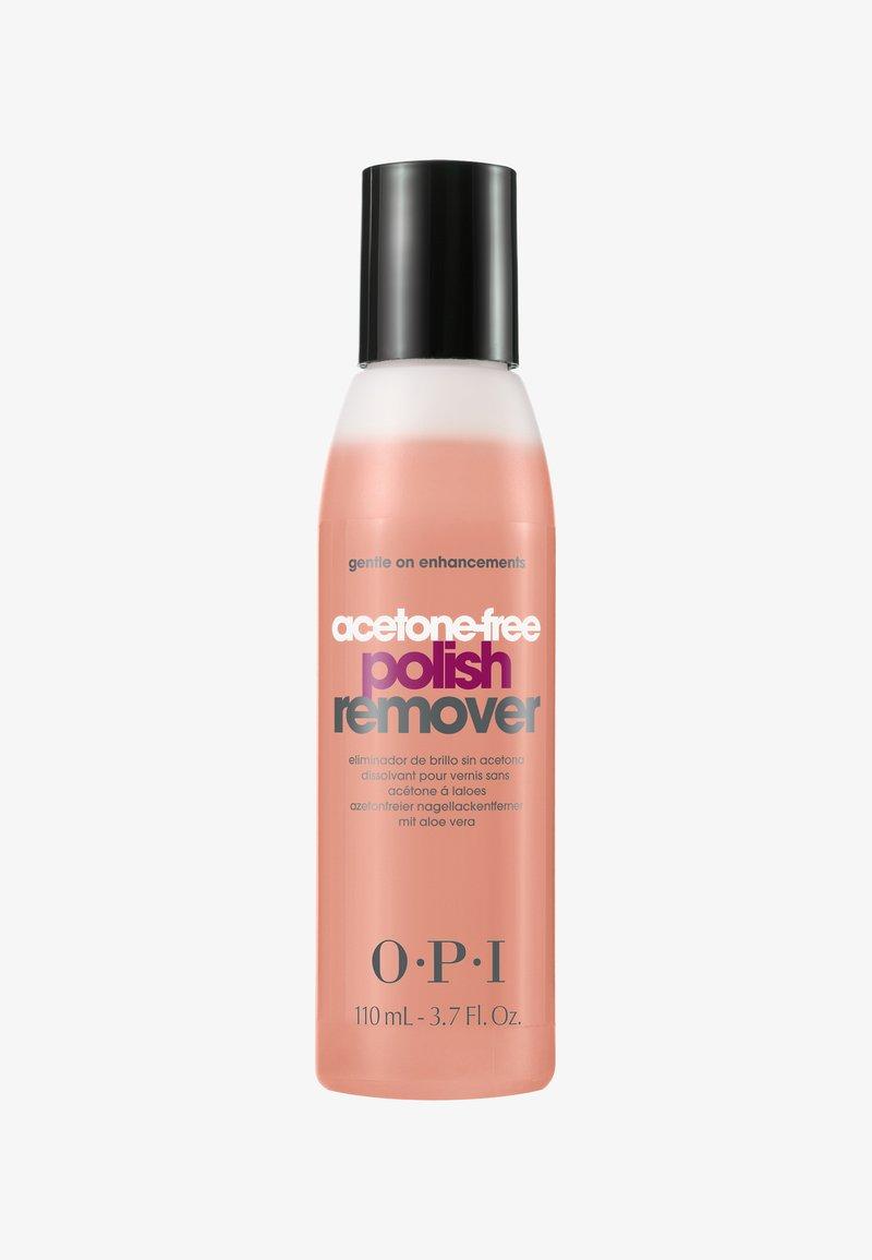 OPI - NAIL POLISH REMOVER ACETONFREE  - Nail polish remover - AL444