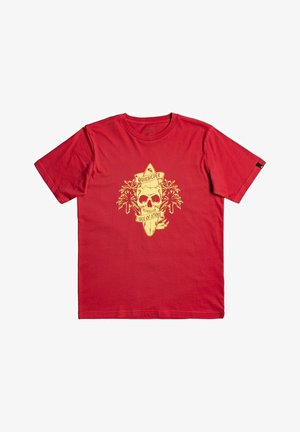 NIGHT SURFER - T-shirt print - american red