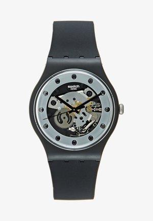 SILVER GLAM - Watch - black