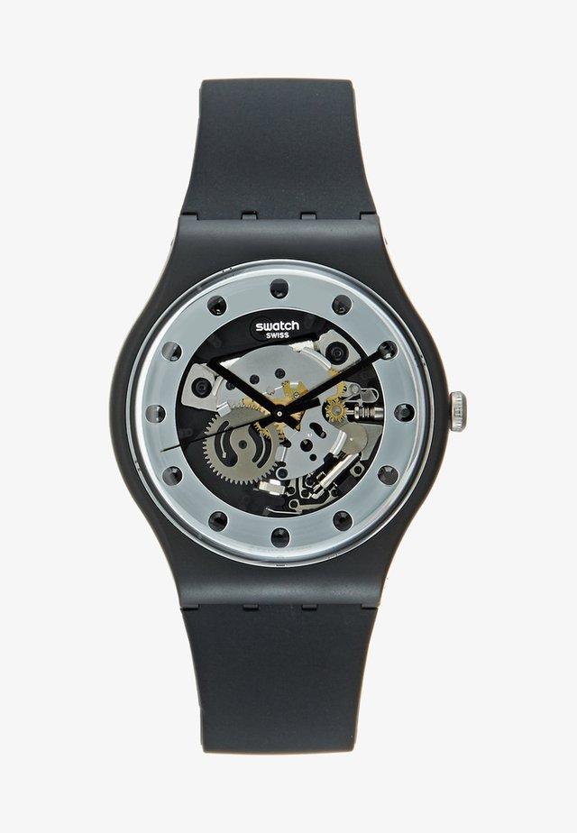SILVER GLAM - Horloge - black