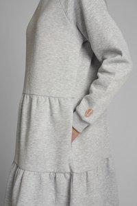 Nümph - NUNANNA DRESS - Day dress - light grey melange - 3
