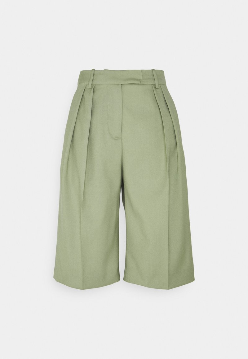 ARKET - Casual Trousers - Shorts - green