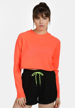 Mikina - neon orange