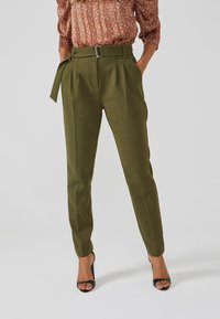 Aaiko - LYATT WO 577 - Trousers - dark olive - 0