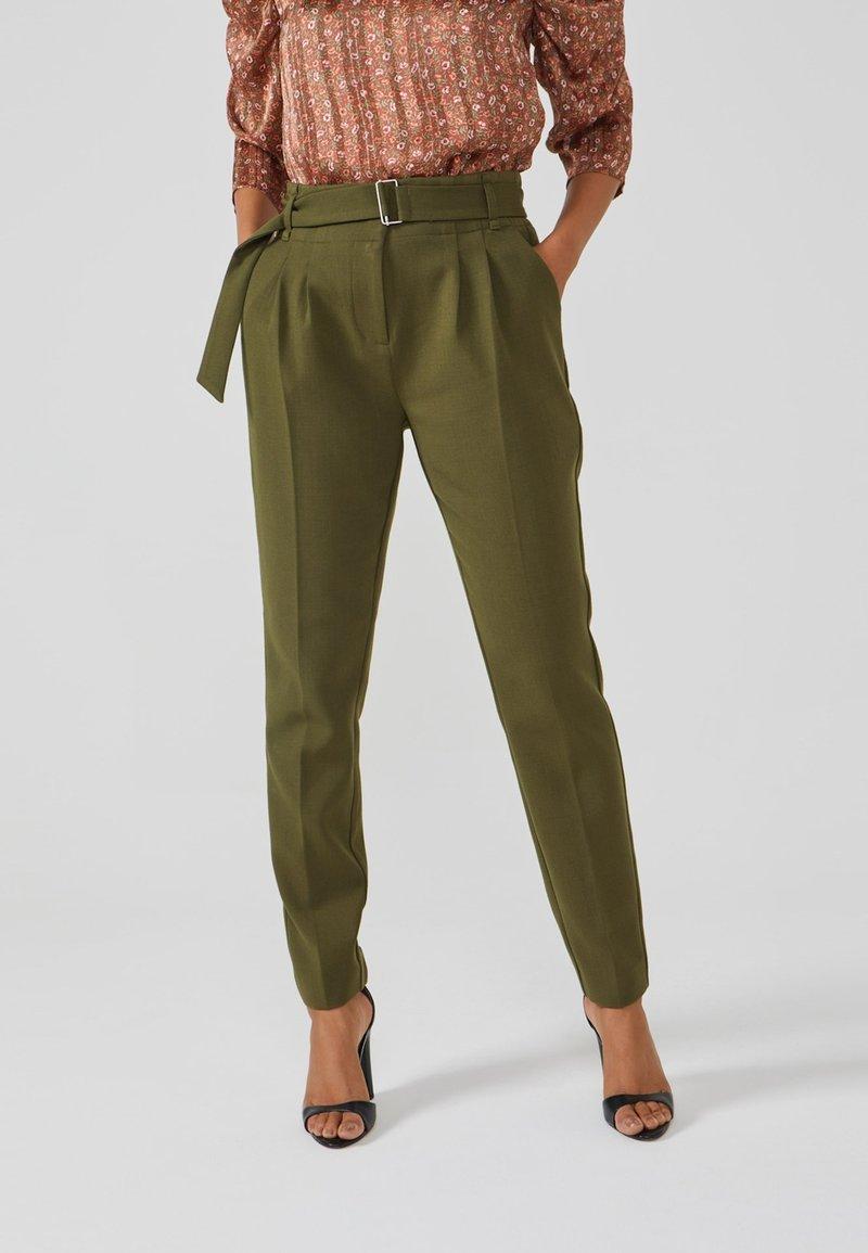 Aaiko - LYATT WO 577 - Trousers - dark olive