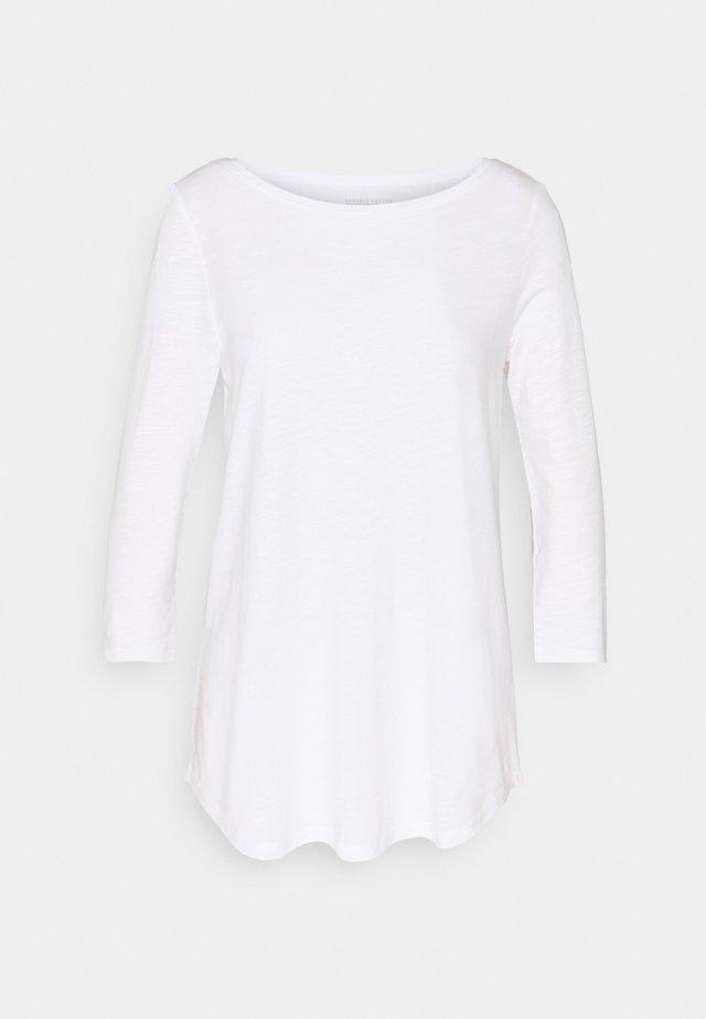 Camiseta de manga larga - white
