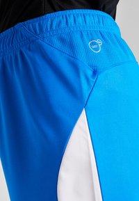 Puma - LIGA  - Sports shorts - electric blue lemonade/white - 3