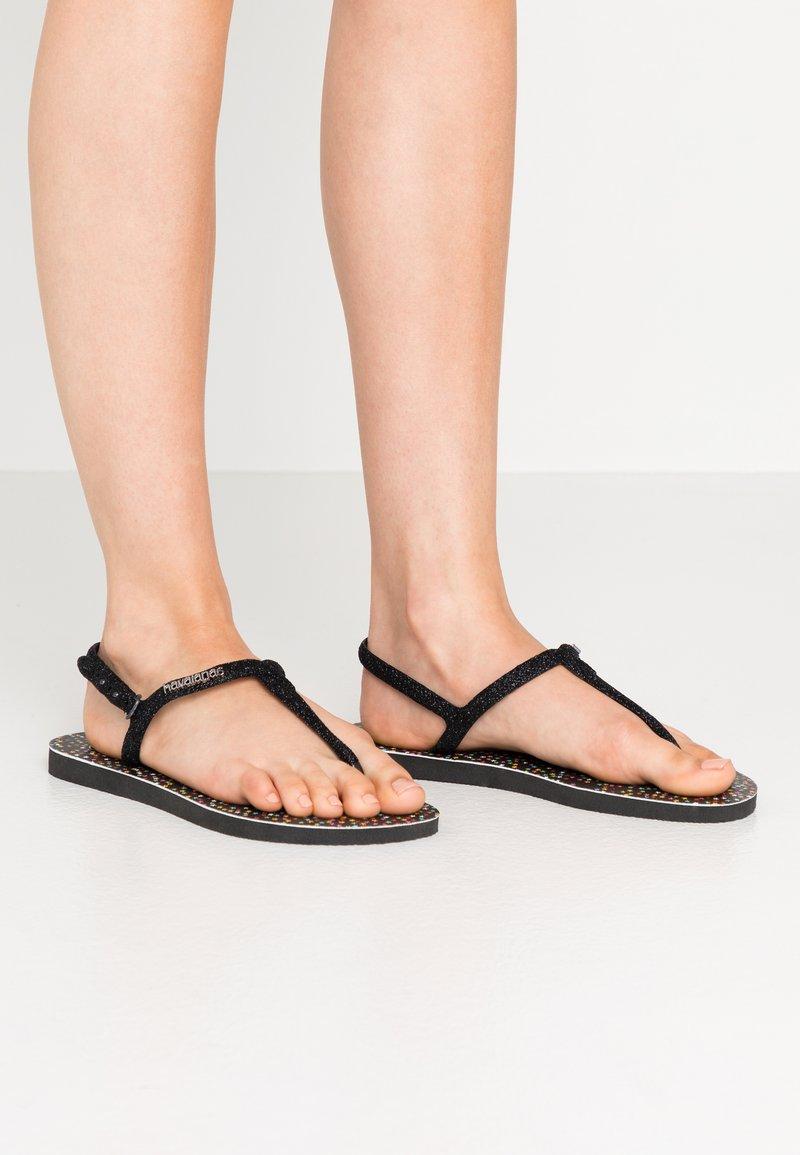 Havaianas - TWIST CARNAVAL - Pool shoes - black