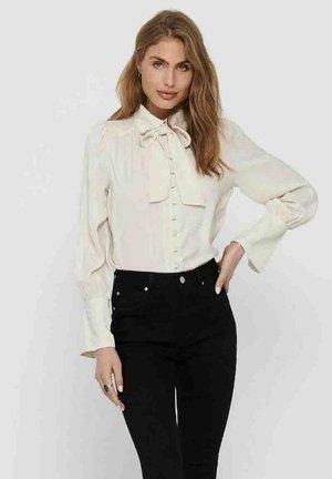 Button-down blouse - moonbeam