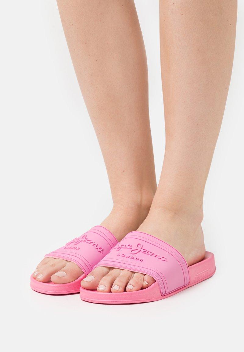 Pepe Jeans - SLIDER  - Slip-ins - factory pink
