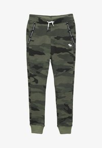 Abercrombie & Fitch - MARKETED JOGGER - Träningsbyxor - khaki - 3