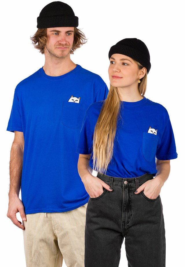 Print T-shirt - royal blue