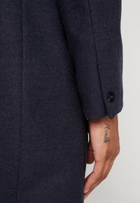 Burton Menswear London - FAUX CROMBI - Zimní kabát - navy - 3