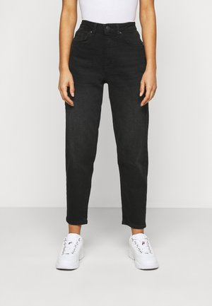 ONLVENEDA LIFE MOM  - Jeans straight leg - black