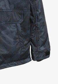 SuperRebel - SKI TECHNICAL JACKET ALL OVER - Snowboardová bunda - grey/blue - 3