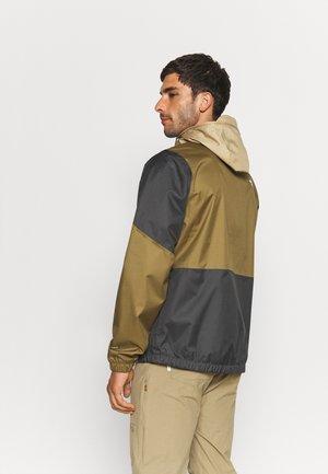 FARSIDE JACKET - Hardshell jacket - kelp tan