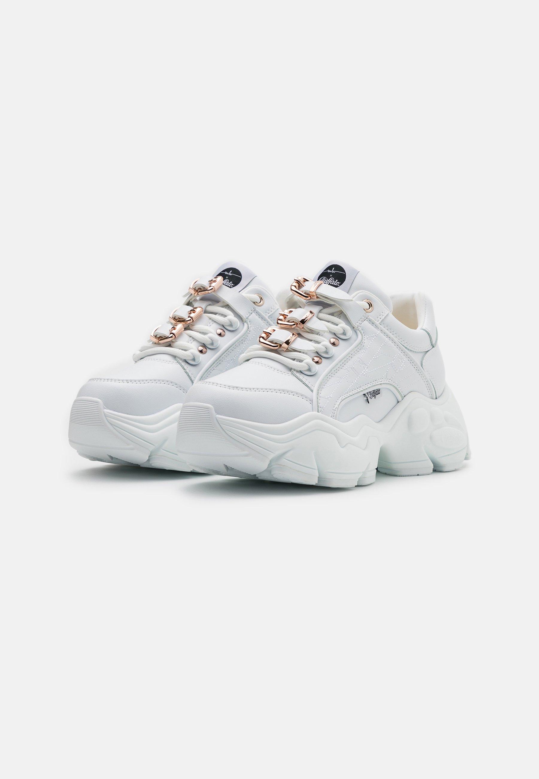 Buffalo MH X BUFFALO BINARY SNEAKER Sneaker low white/weiß