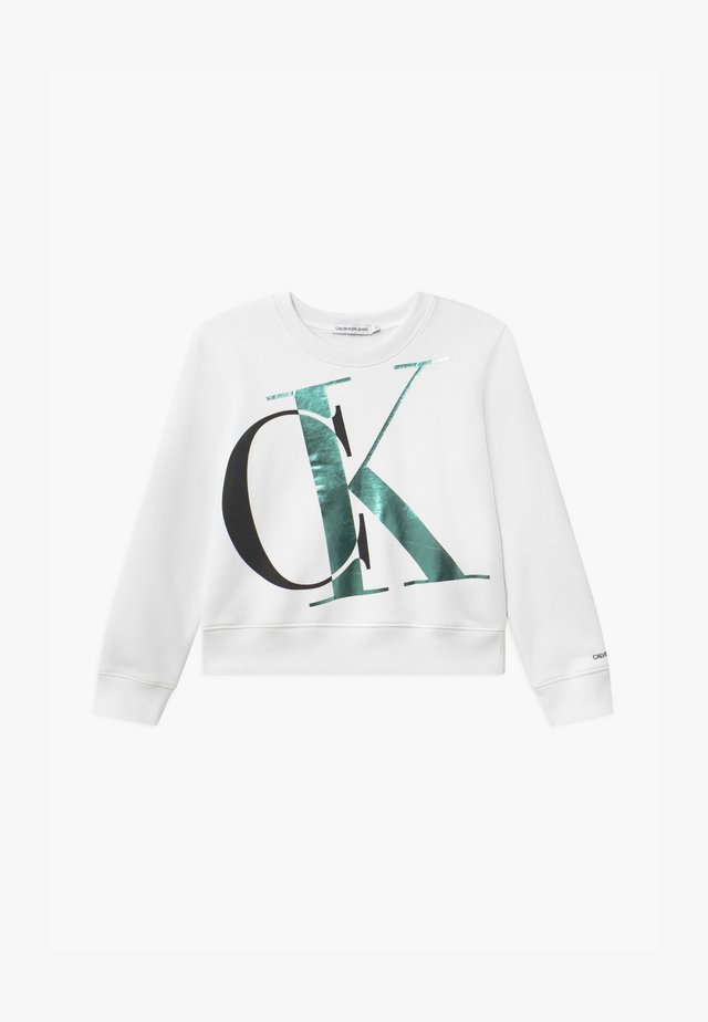 EXPLODED MONOGRAM - Sweatshirt - white