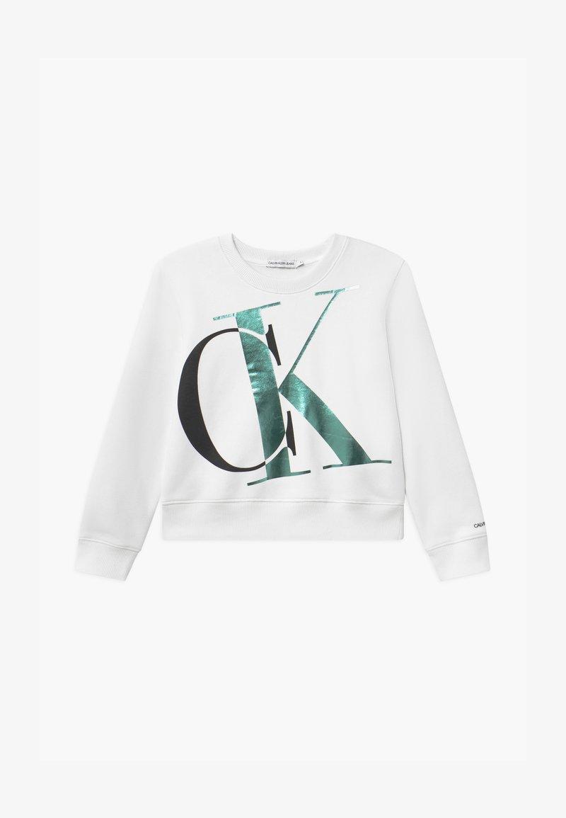 Calvin Klein Jeans - EXPLODED MONOGRAM - Sweatshirt - white